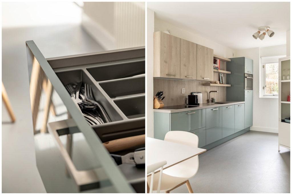 Woudstee Cornelia keuken met compleet bestek