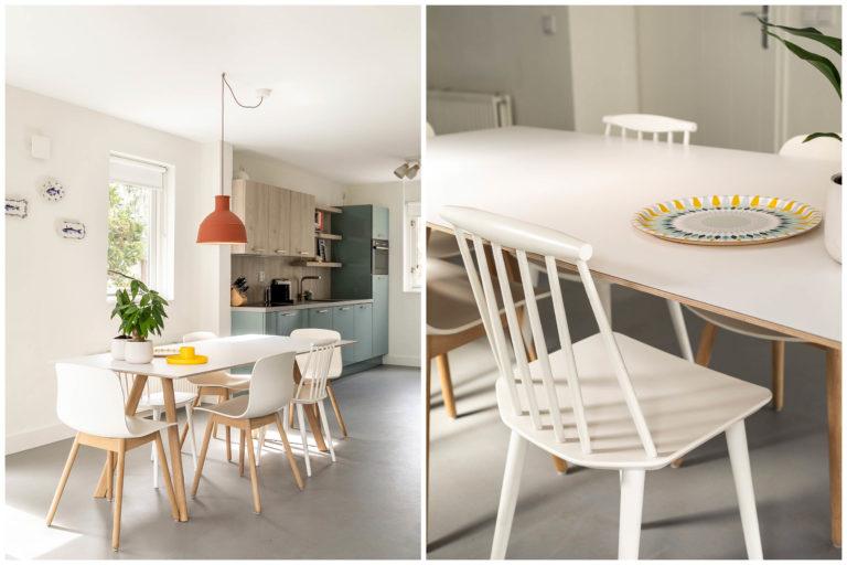Woudstee Cornelia woonkamer met Hay eettafel en stoelen